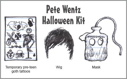 Pete Wentz Halloween Kit