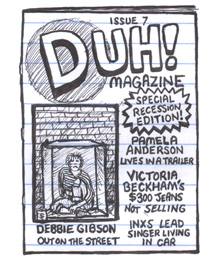 Duh Magazine Issue 7 Special Recession Edition