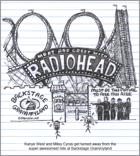 radiohead 2009 grammys