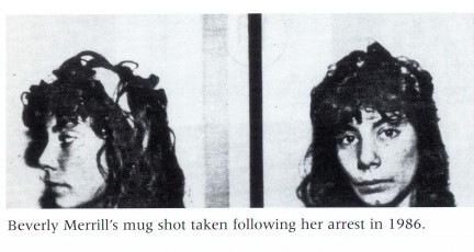 Danielle Staub mug shot as Beverly Merrill