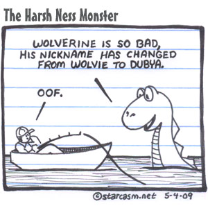 The Harsh Ness Monster How Bad Is Wolverine