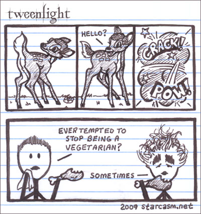 Tweenlight Twilight cartoon
