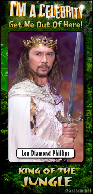 Lou Diamond Phillips wins I'm A Celebrity