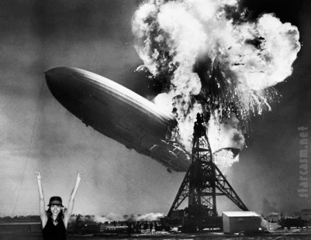 Jessica Alba and the Hindenburg