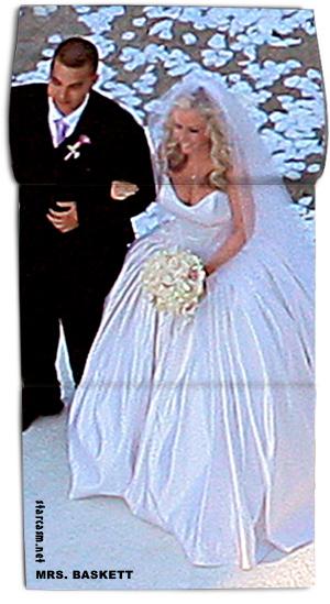 Kendra Wilkinson And Hank Baskett Wedding Photo