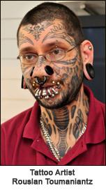 The tattoo artist  Rouslan Toumaniantz  claims young Kimberly    asked    Rouslan Toumaniantz Tattoo Artist