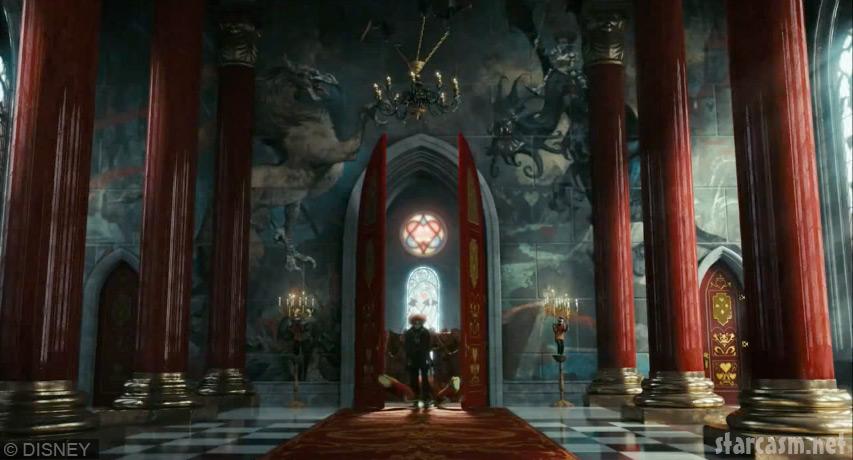 Tim Burton Alice In Wonderland Trailer 2010 Photos Gallery