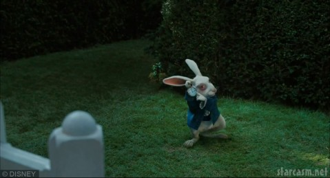 The White Rabbit from the Tim Burton Alice in Wonderland
