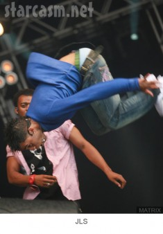 JLS perform at The Party in the Park in Leeds