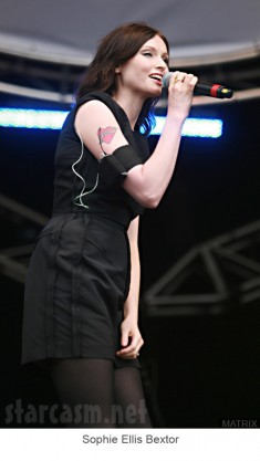 Sophie Ellis Bextor performs at The Party in the Park in Leeds
