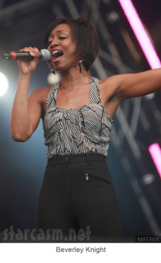 Beverley Knight performs at The Party in the Park in Leeds
