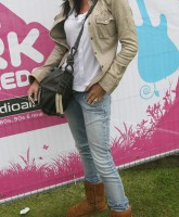 Lucy Pargeter at The Party in the Park in Leeds