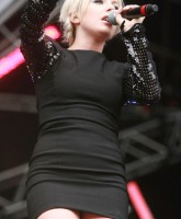 Little Boots performs at The Party in the Park in Leeds
