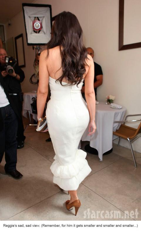 Kim Kardashian booty zoom
