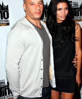 Vin Diesel and Paloma Jimenez at the Latino Film Festival screening of Los Bandoleros