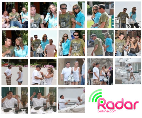 Hailey Glassman and Jon Gosselin in St. Tropez