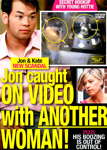 Jon Gosselin and Hailey Glassman caught on surveillance camera