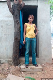 Sanjana is a teen prostitute in the Bedia clan of India
