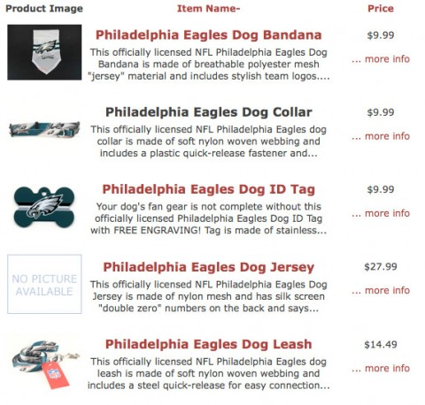 Michael Vick Philadelphia Eagles merchandise