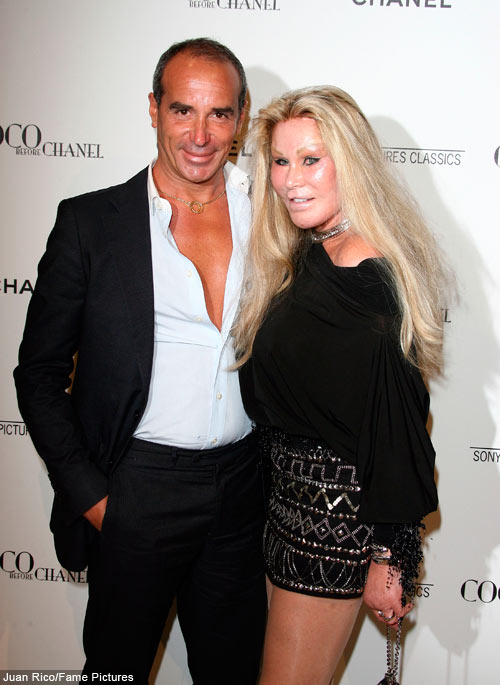 Jocelyn Wildenstein and husband Lloyd Klein at the Coco Before Chanel    Alec Wildenstein Russian Model