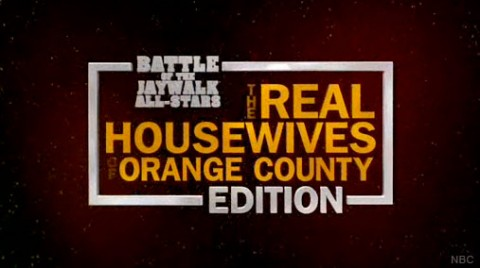 Battle of the Jaywalk All-Stars The Real Housewives of Orange County Edition