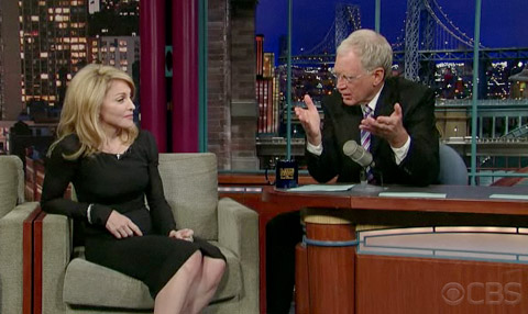wiki madonna late show with david letterman