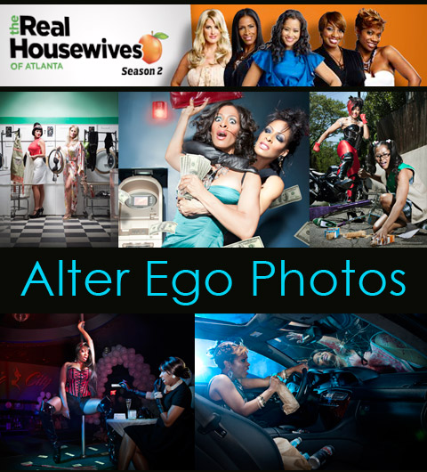 The Real Housewives of Atlanta Alter Ego photos by Derek Blanks