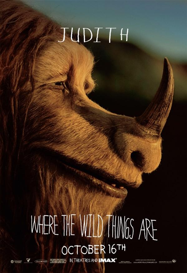 Where The Wild Things Are Character Movie Posters