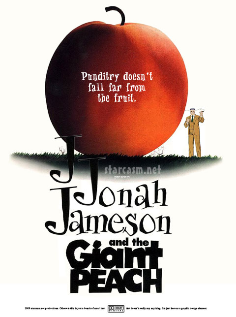 J. Jonah Jameson and the Giant Peach is one of the crossover movie titles in the works from the recently combined Disney and Marvel studios