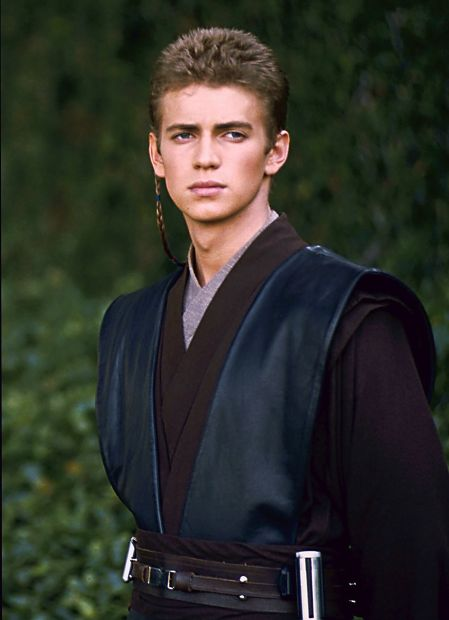 Hayden Christenson as Anakin Skywalker in Star Wars: Episode III