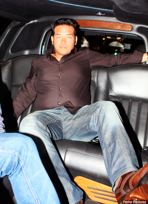 Douchebag poster child Jon Gosselin in Beverly Hills on September 30, 2009