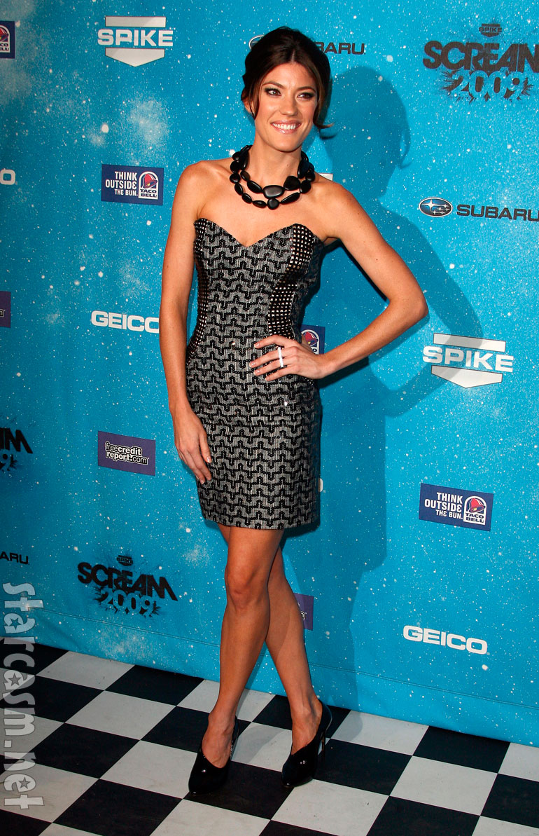 photos top 5 sexiest arrivals at spike tv u0026 39 s scream 2009