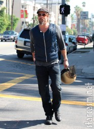 Brad Pitt walks away from his motorcycle accident