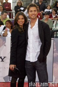 Roselyn Sanchez and date at Michael Jackson's This Is It Premiere