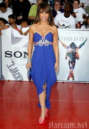 Paula Abdul look great on the red carpet at Michael Jackson's This Is It Premiere