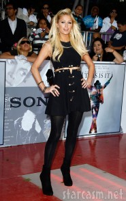 Paris Hilton at Michael Jackson's This Is It Premiere