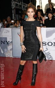 Jennifer Lopez at Michael Jackson's This Is It Premiere