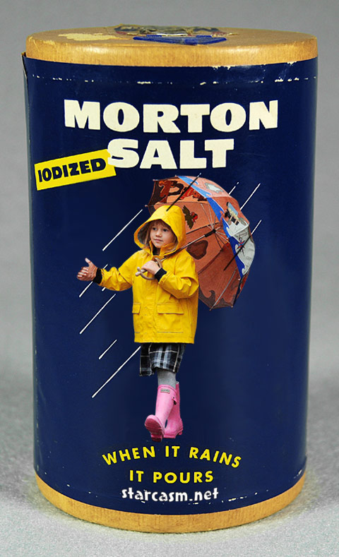 Matilda Ledger the face of Morton Salt?