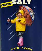 Matilda Ledger as the Morton Salt Umbrella Girl