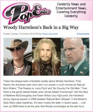 2009 is a busy year for Woody Harrelson