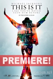 Premiere poster for This Is It