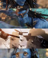 Avatar trailer stills 7 of 8 with Na'vi
