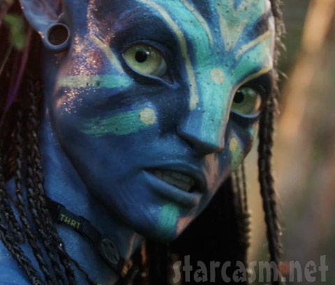 Picture of a Avatar Na'vi from Pandora