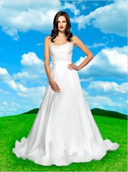 Snow White wedding gown