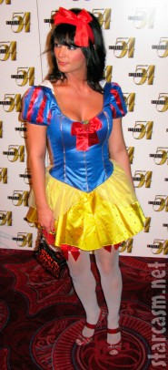 Laura Croft is a sexy Snow White. Holly Madison's friend Laura Croft was ...
