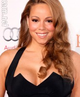 Mariah Carey on the red carpet for the Hollywood premiere of Precious