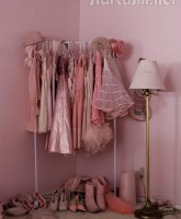 Some of The Pink Lady Kitten Kay-Sera's pink wardrobe