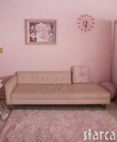 Kitten Kay-Sera's pink sofa