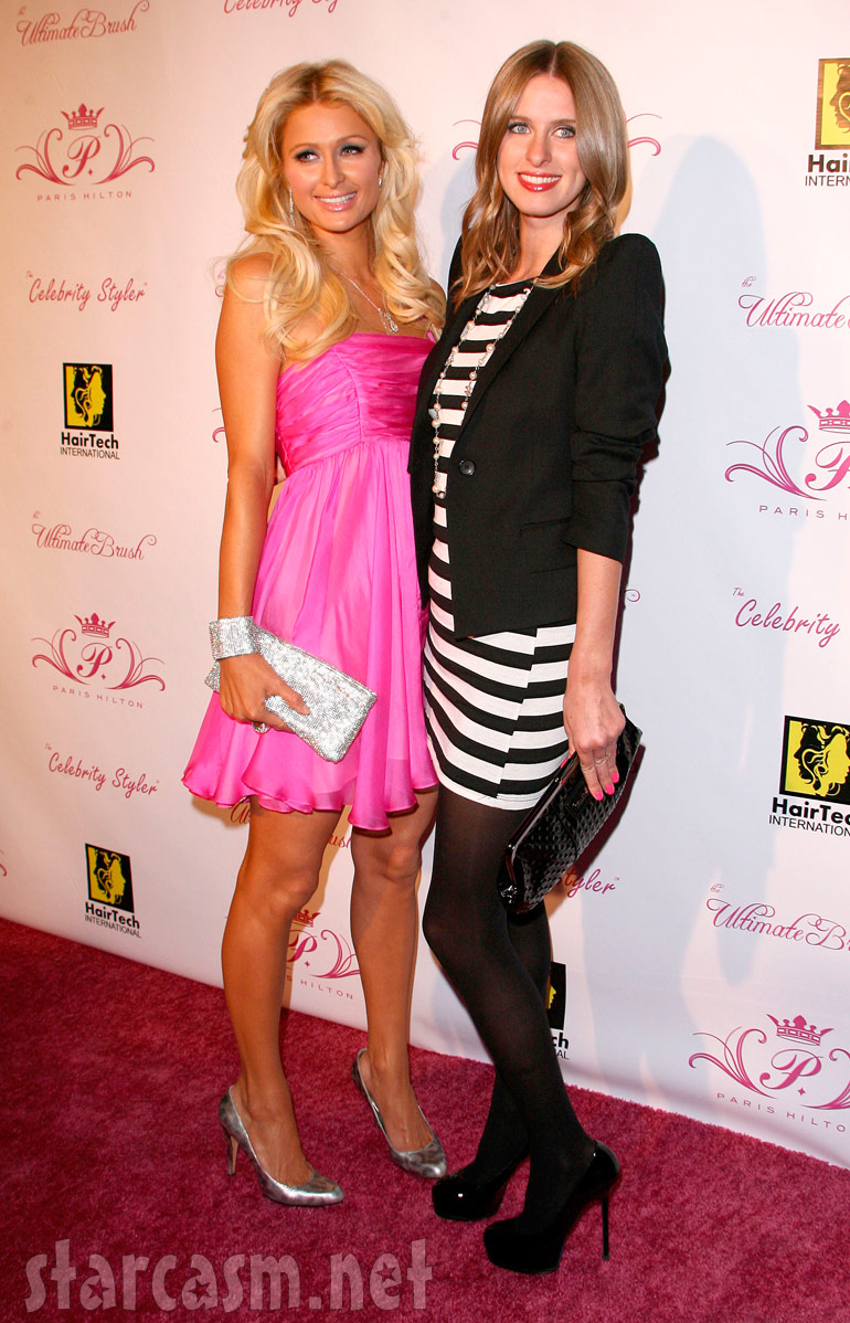 Paris Hilton And Nicky Hilton At The Launch Of Her Line Of