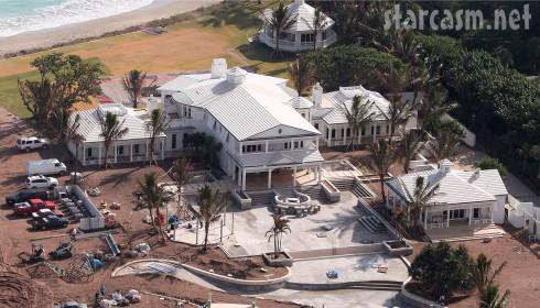 Aerial photo of celine dion 39 s jupiter island florida Celine dion florida
